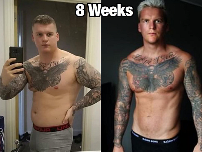Clenbuterol-Cycle-Dosage-before-and-after-body-transformation